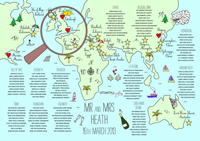 direct-your-guests-in-style-with-these-wonderful-wedding-maps-3.-308_World_TablePlan