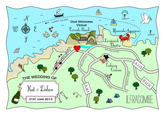 direct-your-guests-in-style-with-these-wonderful-wedding-maps-5.-486_Ilfracombe_FullColour