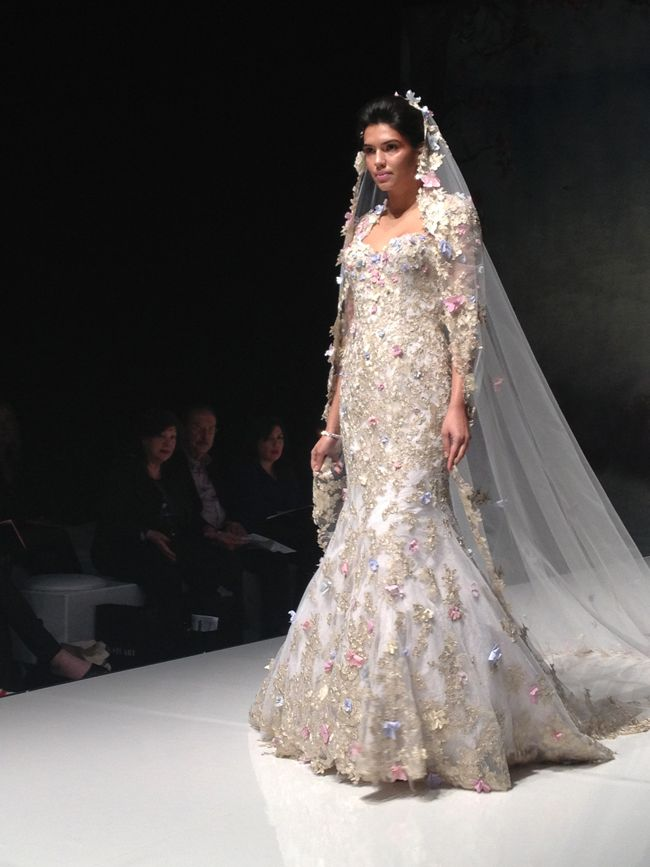 Hot Off The Catwalk Wedding Dress Trends For 2015 Revealed