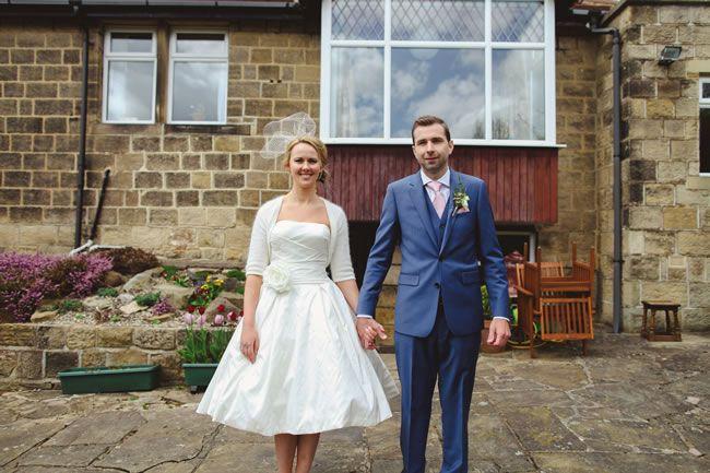 Jess and Andy's real wedding © jesspetrie.com