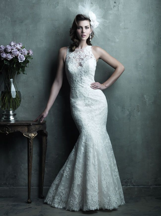 Style C280 from Allure Bridals Couture collection