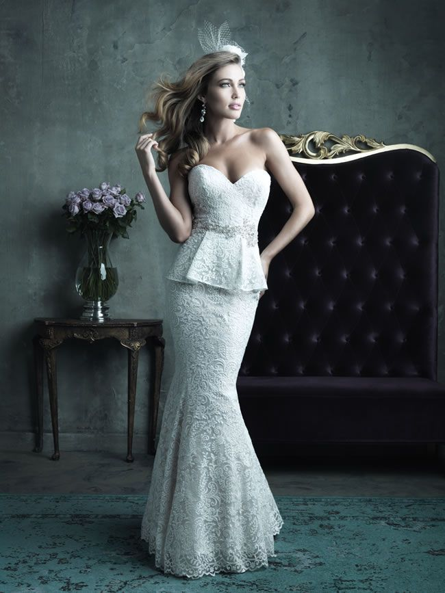 Style C282 from Allure Bridals Couture collection