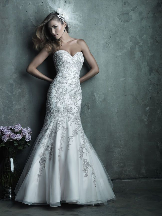 Style C283 from Allure Bridals Couture collection