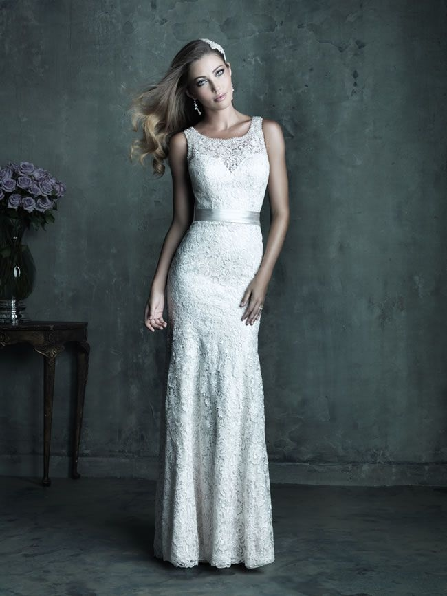 Style C284 from Allure Bridals Couture collection