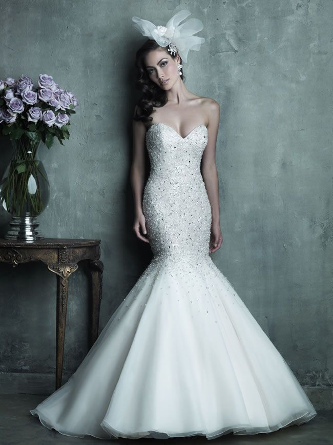 Style C286 from Allure Bridals Couture collection