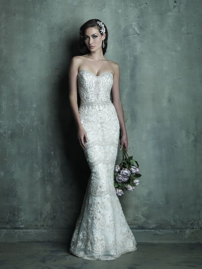 Style C288 from Allure Bridals Couture collection