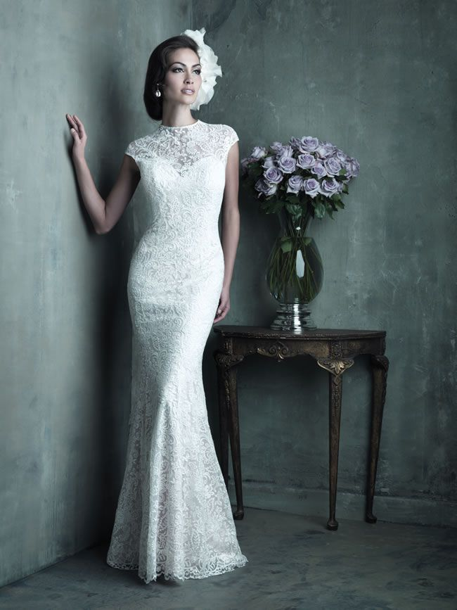 Style C289 from Allure Bridals Couture collection