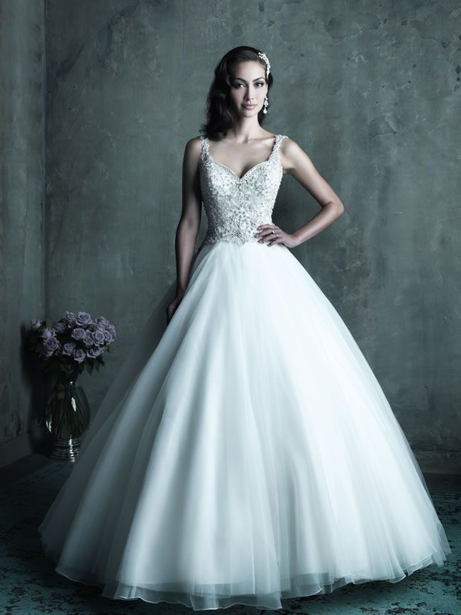 Style C290 from Allure Bridals Couture collection