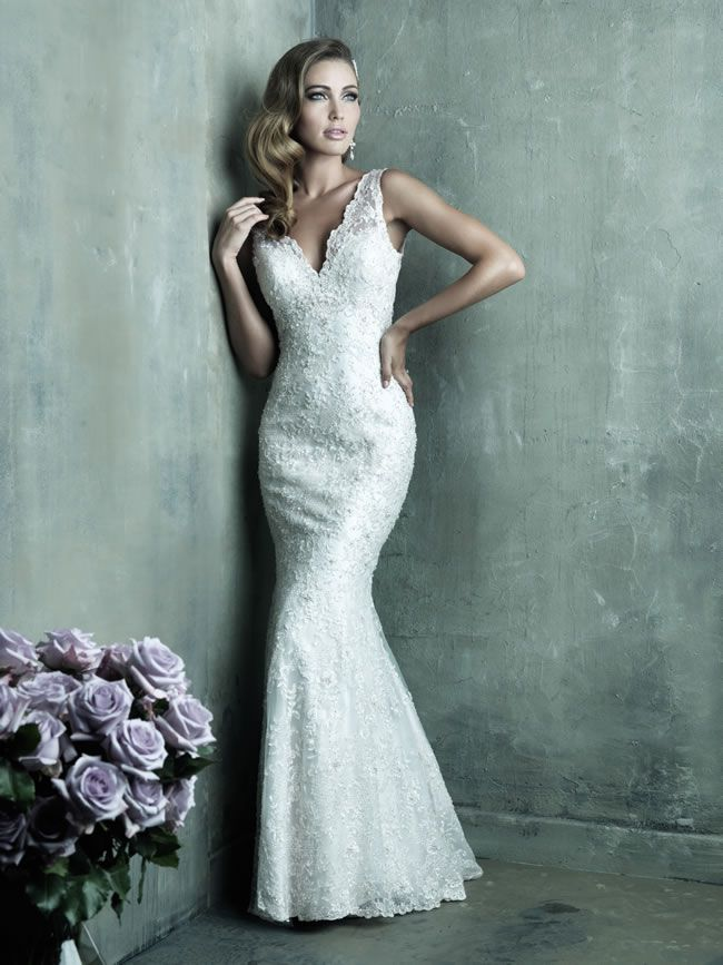 Style C291 from Allure Bridals Couture collection