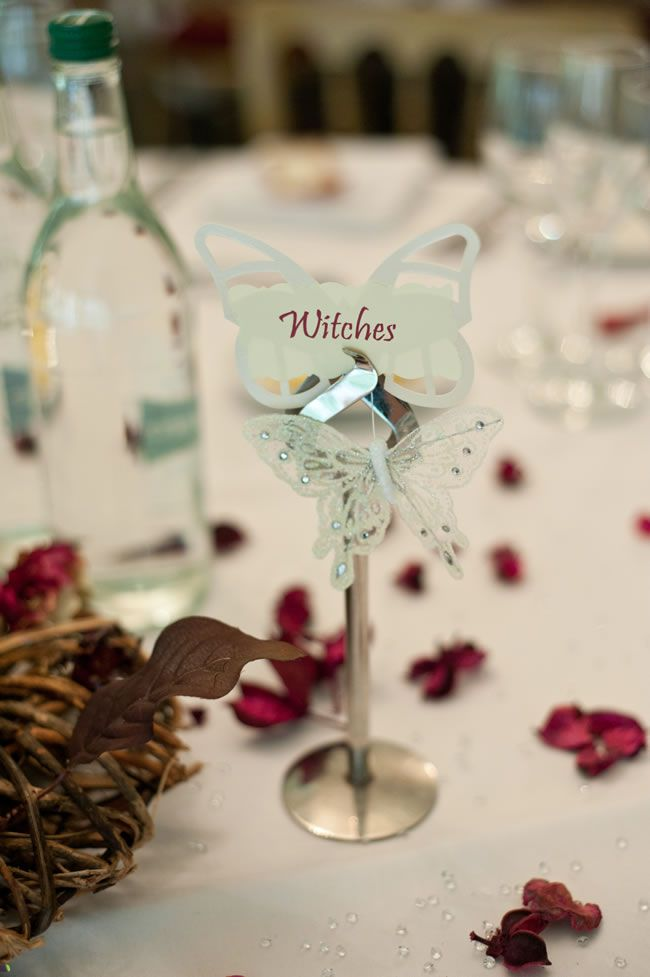 Rebecca and Tom's fantasy-inspired autumn wedding © louiseholgate.com