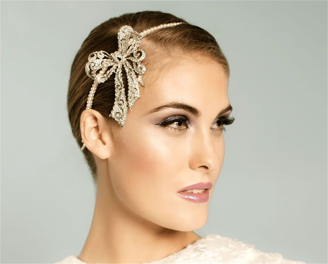 Bow Beautiful headband, £145, Flo & Percy