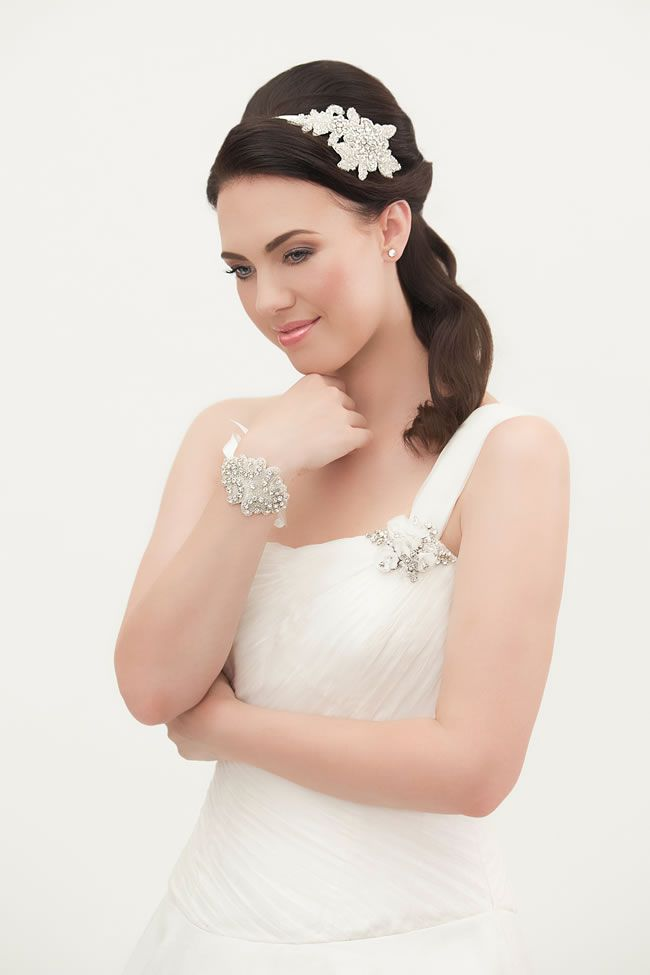 Summer headband, £115, Crystal Bridal Accessories