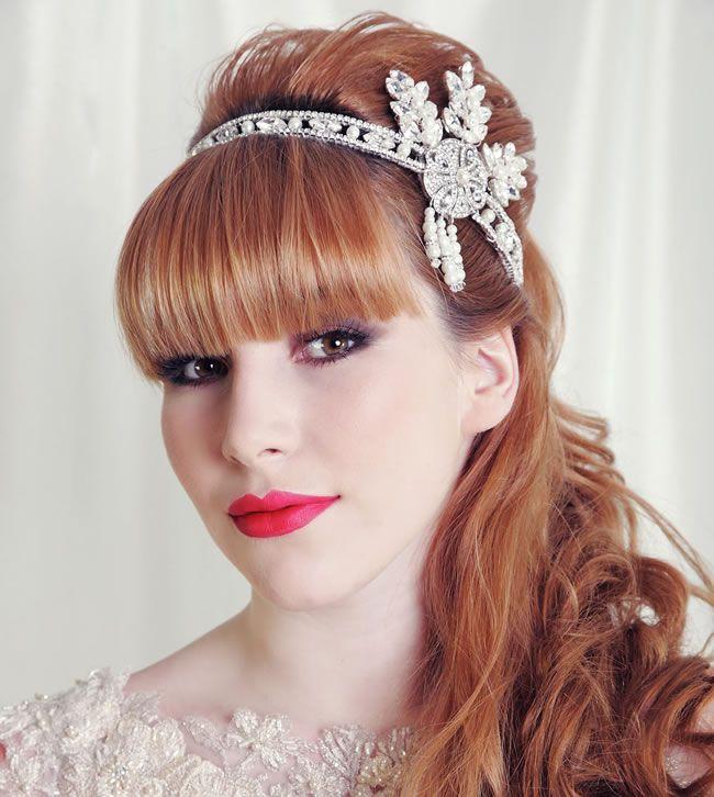 Gatsby tiara, £230, The Handmade Tiara