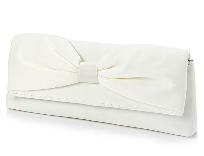 Ivory bag, £16, BHS