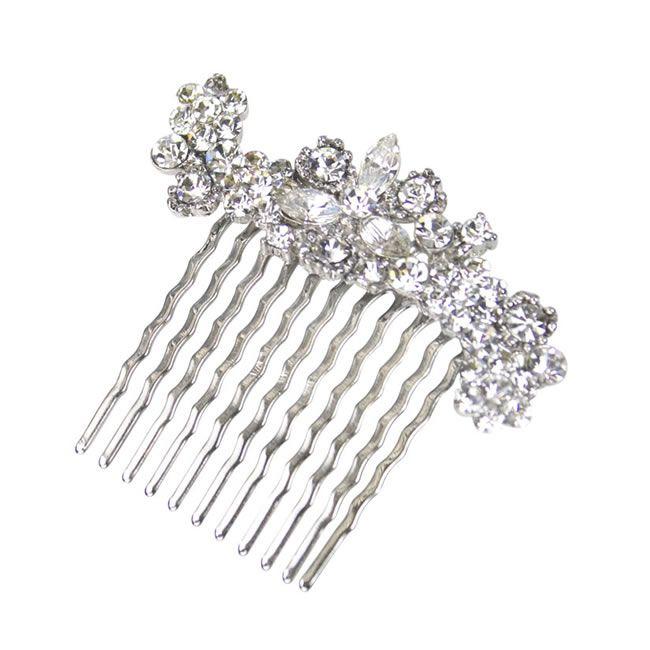 Swarovski crystal comb, £14.99, Crystal Bridal Accessories