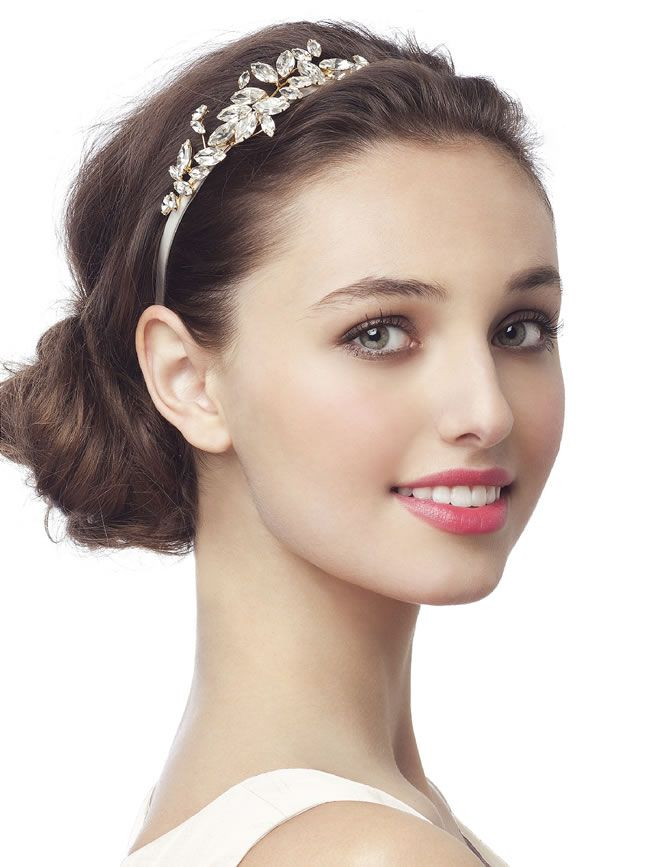 Embellished bridal headband, £14, Dessy