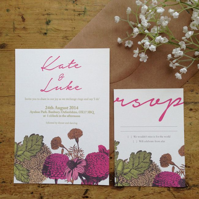 Outdoor Wedding Invitations: 4 Perfect Wedding Invitations For An Outdoor Celebration