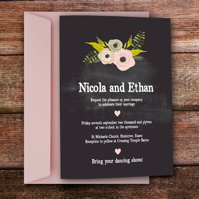 4-perfect-wedding-invitations-for-an-outdoor-celebration-chalkboard_noths_invite-and-envelope3