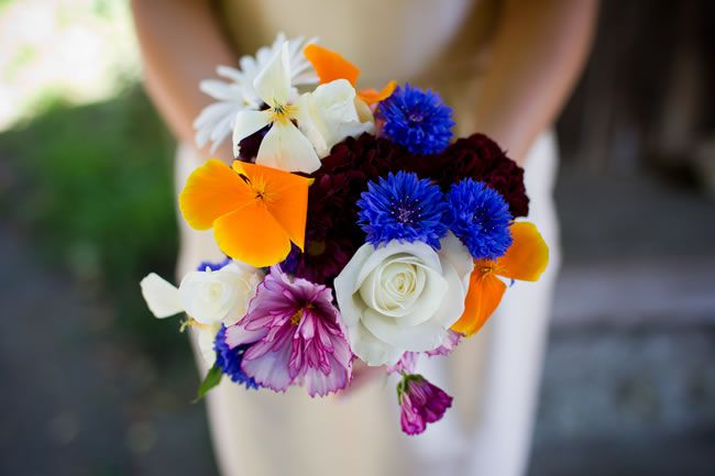 50 of the best wedding bouquets for brides and maids © davidburkephotography.co.uk