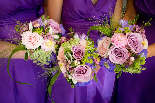 50 of the best wedding bouquets for brides and maids © jamesdavidson.co.uk