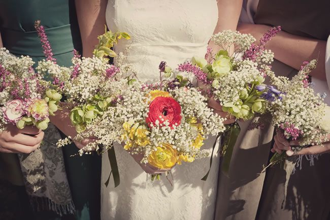 50 of the best wedding bouquets for brides and maids © lissaalexandraphotography.com