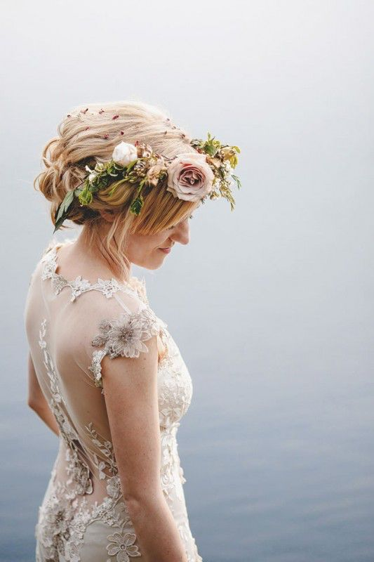 30 Summer Wedding Ideas That are way too Good to miss - flower crown
