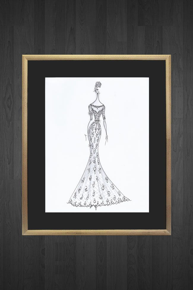 get-your-very-own-designer-sketch-of-your-wedding-dress-by-justin-alexander-modern-silver-leaf-9730