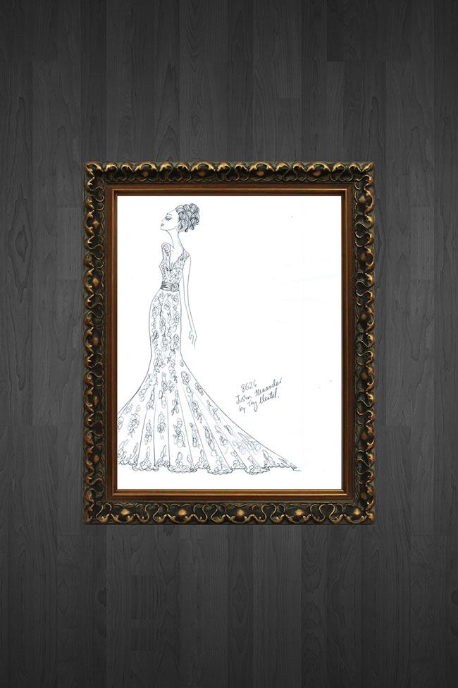 get-your-very-own-designer-sketch-of-your-wedding-dress-by-justin-alexander-premium-vintage-gold