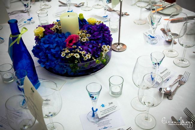 how-to-make-the-most-of-your-wedding-flower-budget-Cobalt-Blue-Flowers#