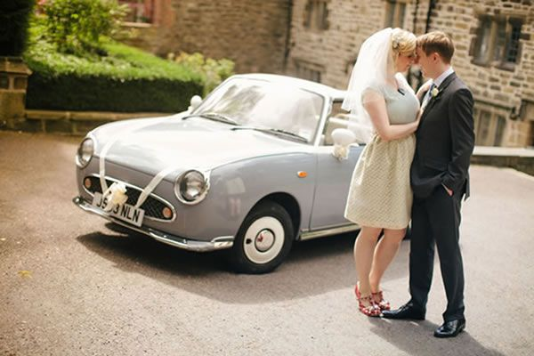 Amy and Philip's quirky movie-themed wedding © mikiphotography.co.uk