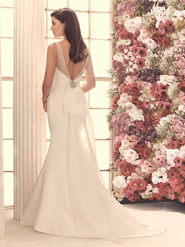 Traditional silhouettes get a modern makeover at Mikaella Bridal