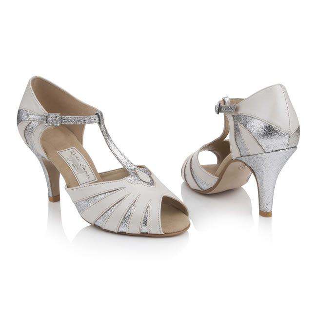 1920s Inspired Wedding Shoes That You Can Dance In From Rachel Simpson