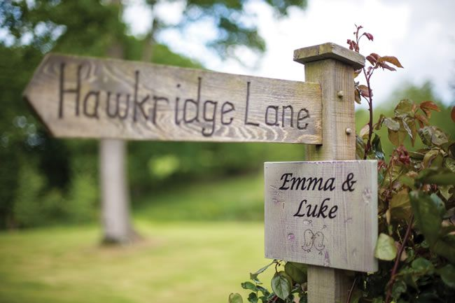 Emma and Luke's festival wedding © dominicwhiten.co.uk