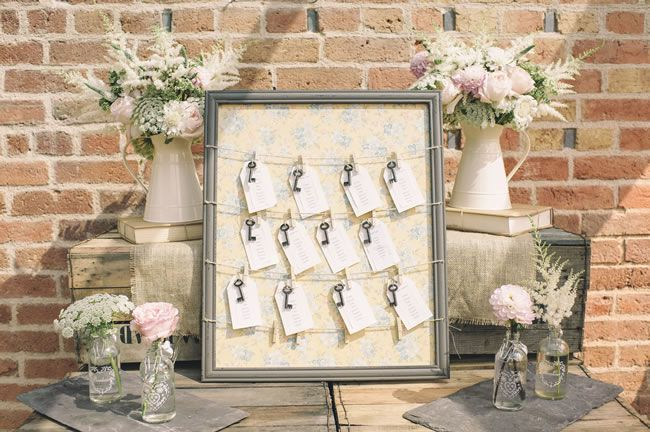 Key table theme - 20 Amazing Table Plans to Suit Your Wedding Theme