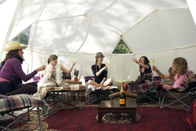 8-glamping-hen-parties-for-the-boho-bride-to-be-Babes-in-the-wood-Malverns-friends