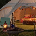 8-glamping-hen-parties-for-the-boho-bride-to-be-Munday's-Meadow-Exterior-Night-feat