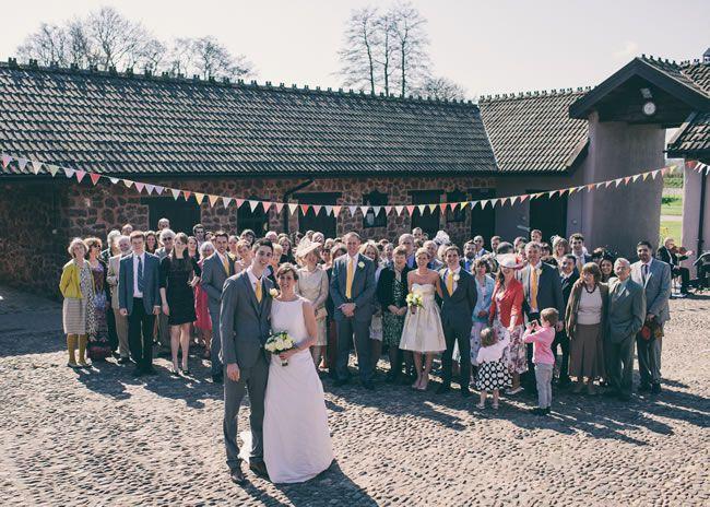Anna and Matt's country wedding © chrisfishleighphotography.com