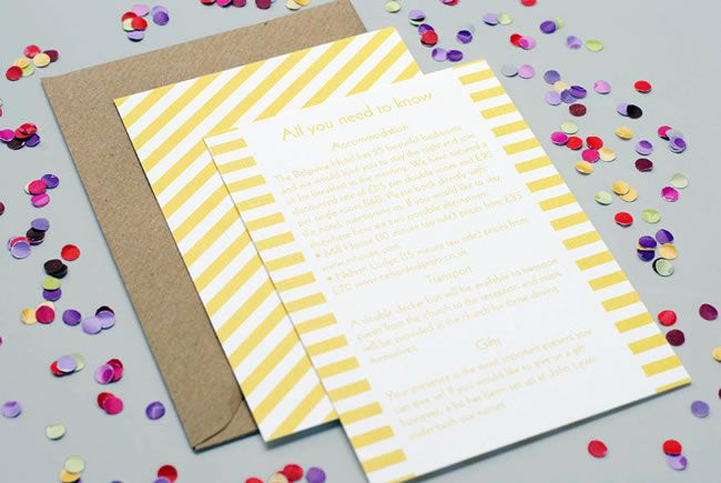 How to work prints and patterns into your wedding theme
