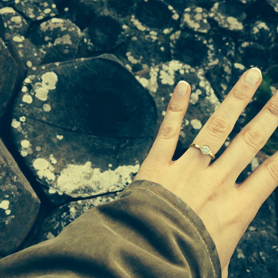 Rachel Martin's engagement ring