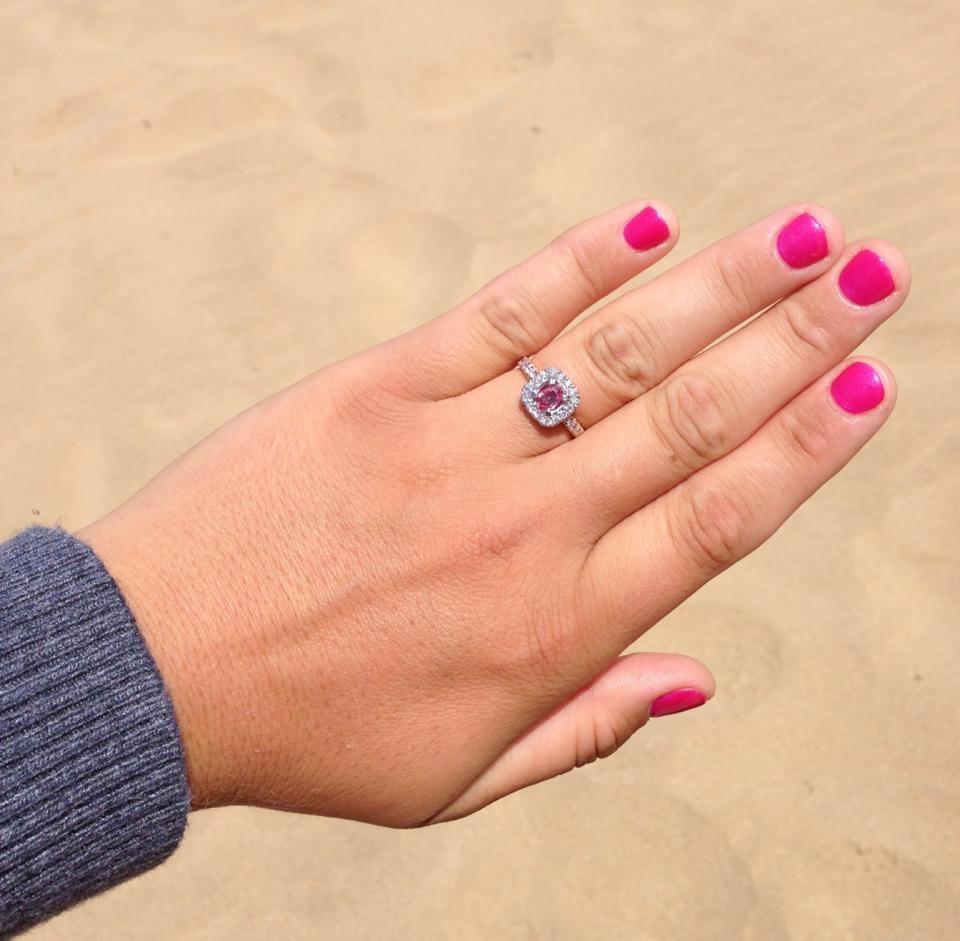 Samantha Louise Mullan's engagement ring