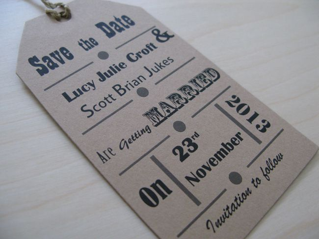 10-hot-new-wedding-stationery-designs-for-2015-5-Vintage-Save-the-Date-Tag