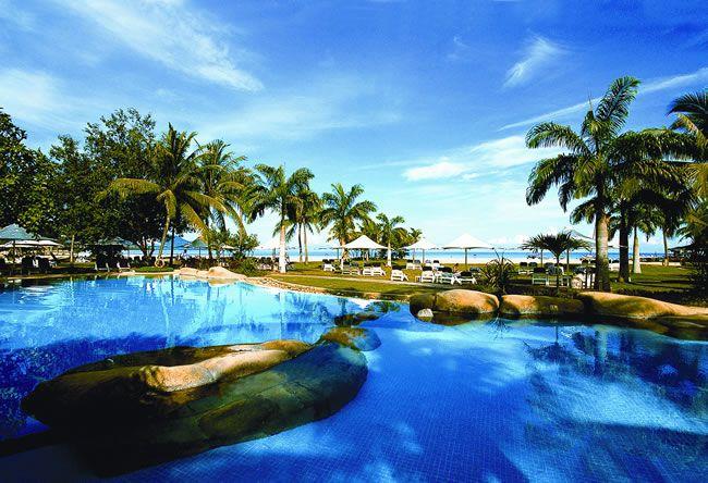 Rasa Ria Resort, Borneo