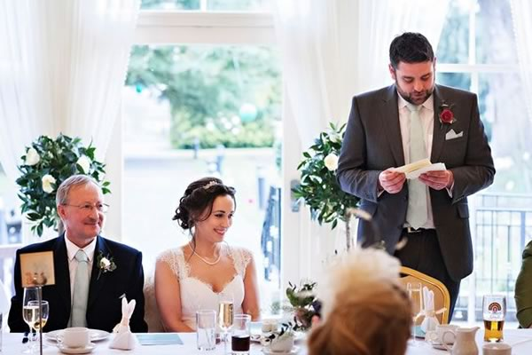 6 questions grooms ask about their wedding speech