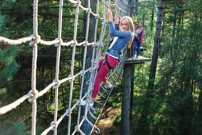 Hen party A-Z © Go Ape