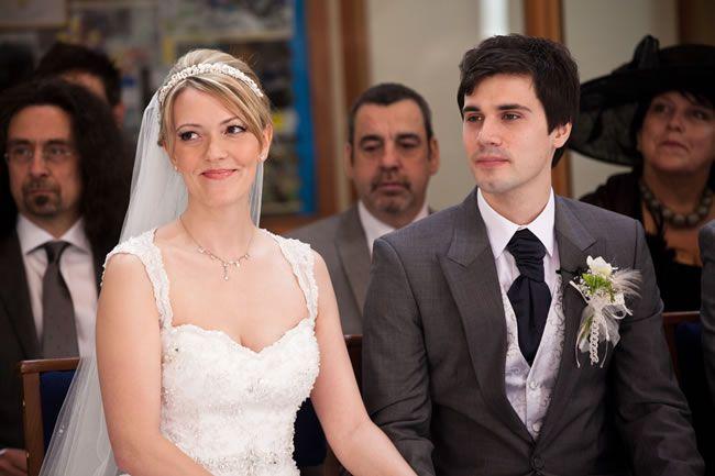 Kate and Justin's movie-inspired wedding © yolandedevries.com