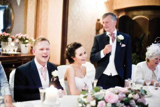 Lois and Matt's dusky pink wedding © bluelightsphotography.co.uk