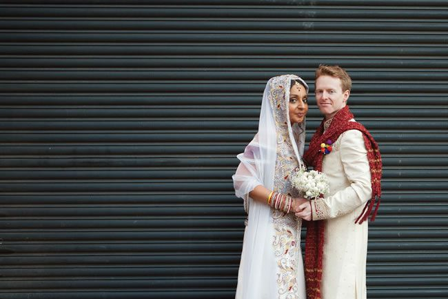 Prem and Danny's colourful British and Indian wedding © hannahwhomes.co.uk