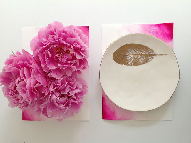 rubyanddiva-diywedding-2. DIY Colour Wash Placemats, created, styled and photographed by Carrie Southall