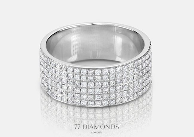 should-both-partners-wear-engagement-rings-we-ask-77-diamonds-ring-diamonds