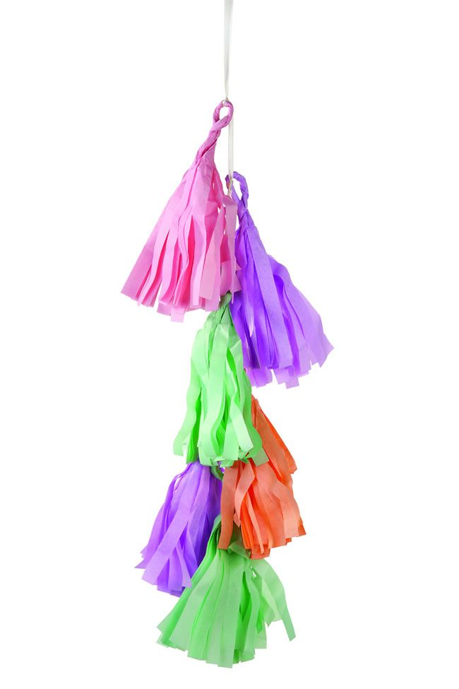 theweddingofmydreams.co.uk Pastel tassel garland £8.50  (2)